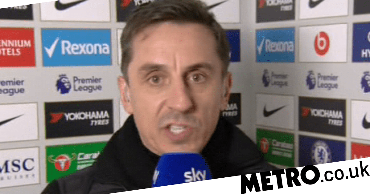 Gary Neville slams Mino Raiola after Paul Pogba's agent digs out Ole Gunnar Sols