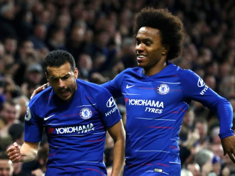Frank Lampard discusses Willian and Pedro's Chelsea futures after Hakim Ziyech arrival