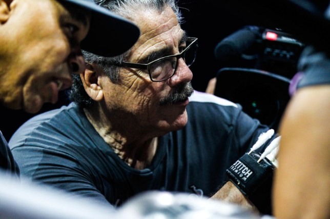 Legendary cutman Jacob Stitch Duran