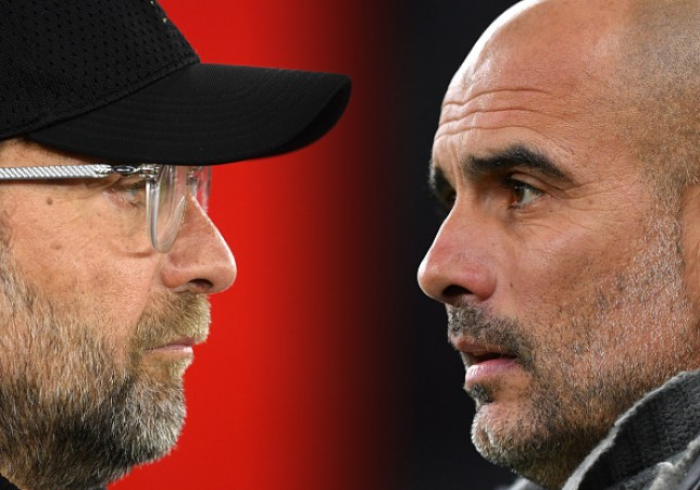 Liverpool boss Jurgen Klopp admits he feels sorry for Pep Guardiola and Manchester City