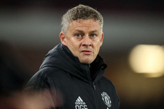 Struggling Manchester United manager Ole Gunnar Solskjaer