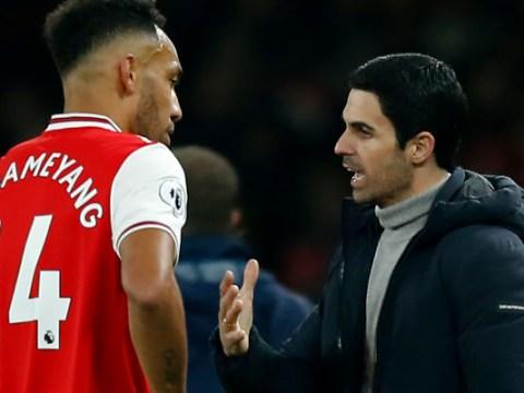 Mikel Arteta sends warning to Pierre-Emerick Aubameyang and Arsenal transfer targets