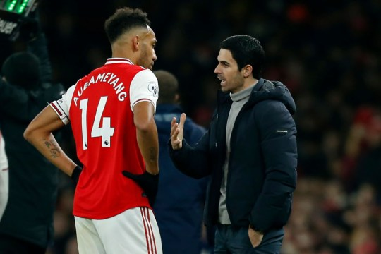Arteta has conceded Aubameyang will leave (Picture: Getty)