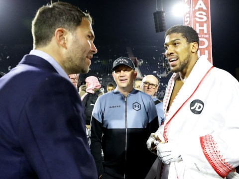 Eddie Hearn reveals details of two-fight deal for Anthony Joshua vs Tyson Fury