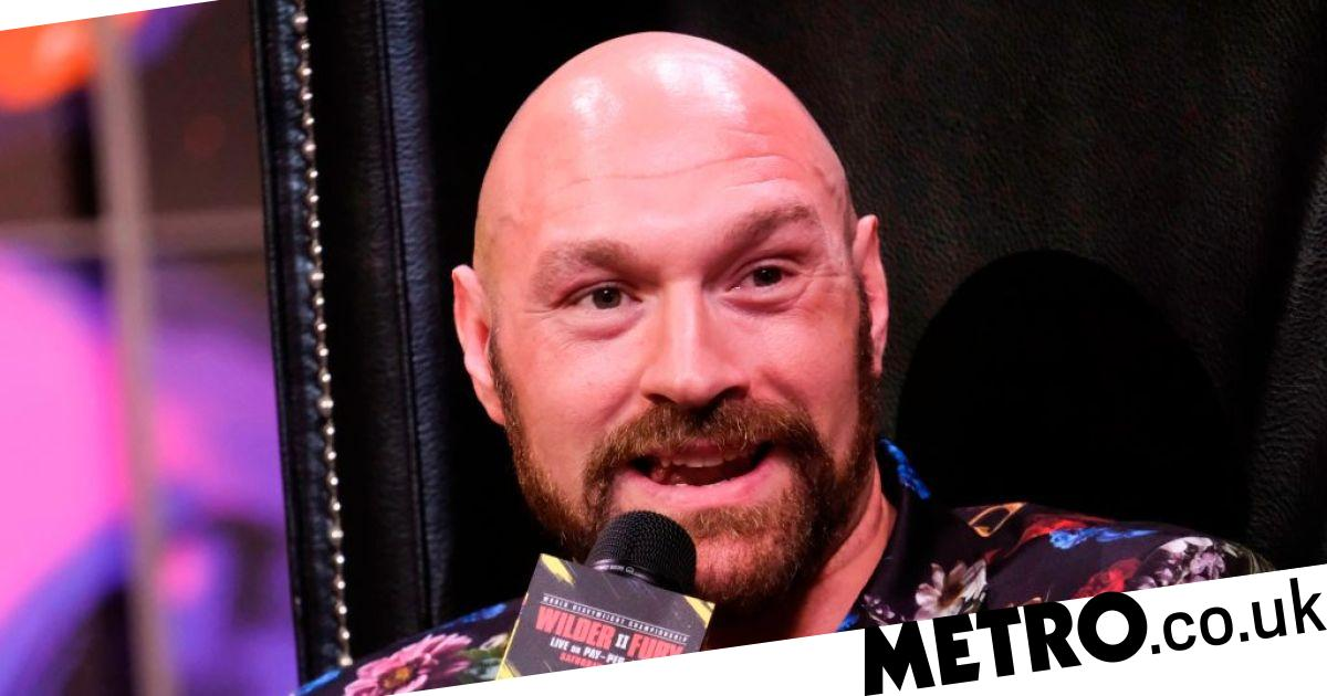 Tyson Fury taunts Anthony Joshua and Eddie Hearn ahead of Deontay Wilder rematch