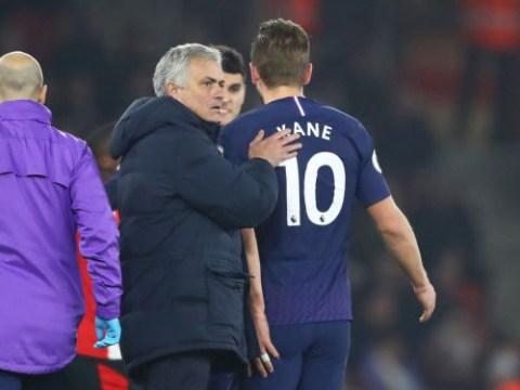 Jose Mourinho reveals when Harry Kane will return from injury