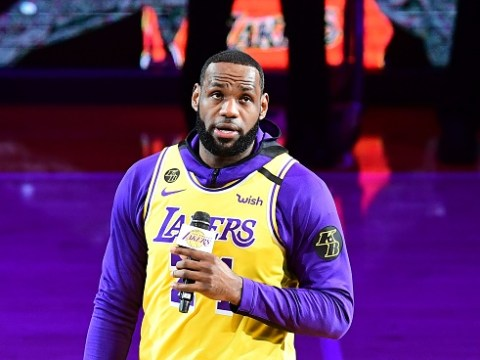 LeBron James gives emotional speech before first LA Lakers game since Kobe Bryant's death
