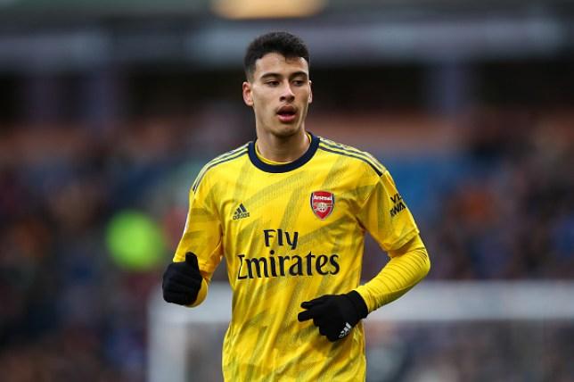 Arsenal forward Gabriel Martinelli