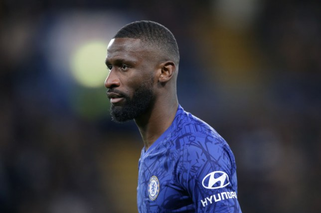 Antonio Rudiger was booed by Tottenham fans during Chelsea's match against Tottenham