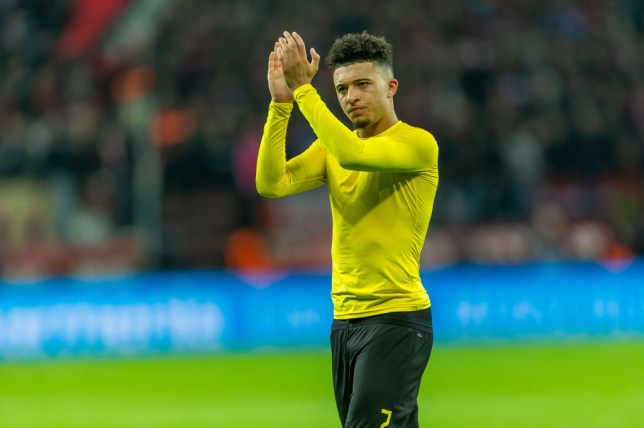 Sancho has been in inspired form for Borussia Dortmund this season (Picture: Getty Images)