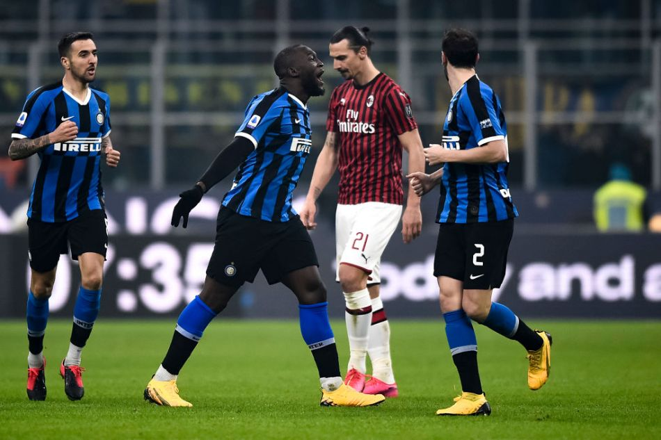 Inter scored four unanswered goals in the second half to win 4-2 against AC Milan