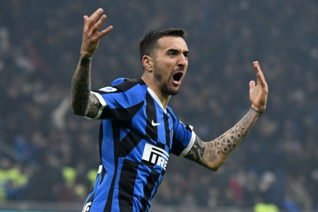 Chelsea are lining up a summer move for Inter Milan's Matias Vecino
