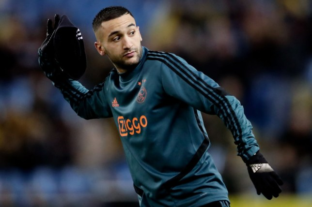 Hakim Ziyech will join Chelsea at the end of the current season from Ajax