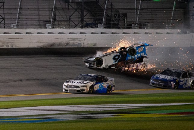 Ryan Newman avoided life threatening injuries after colliding with Corey LaJoie