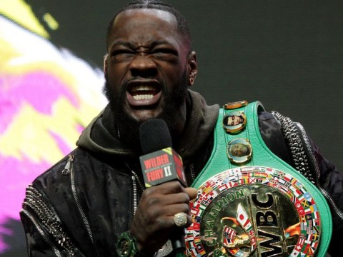 Deontay Wilder reacts to face-off ban with Tyson Fury