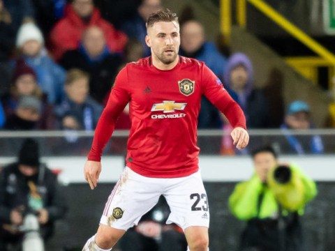 Luke Shaw 'approaching something like his best' in new position at Manchester United, says Gary Neville