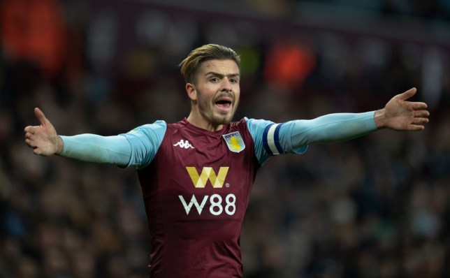 Jack Grealish is wanted by Man Utd manager Ole Gunnar Solskjaer