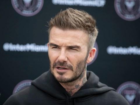 Good guy David Beckham pay visit to cancer sufferer amid coronavirus quarantine