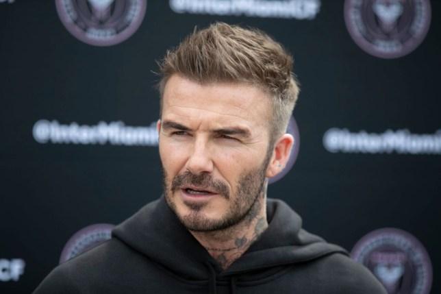 David Beckham believes Ole Gunnar Solskjaer is doing a 'good job' at Manchester United