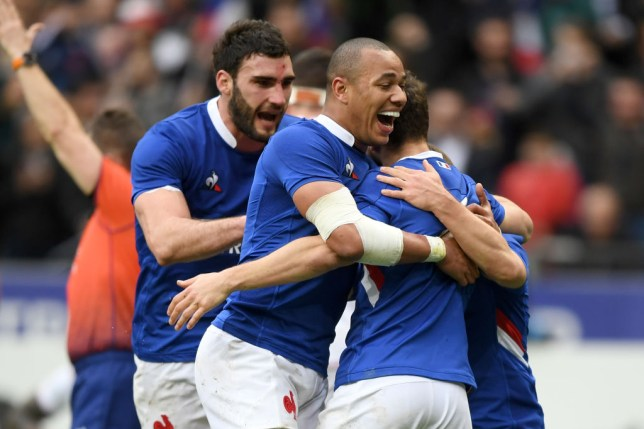 Vincent Rattez scored the opening try of the game as France beat England in their Six Nations opener