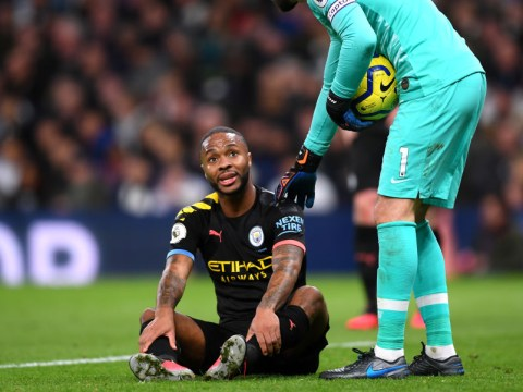 Manchester City confirm Raheem Sterling will miss West Ham game with hamstring injury