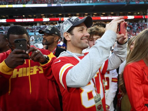 Congratulations to Paul Rudd on the Kansas City Chiefs winning the Super Bowl