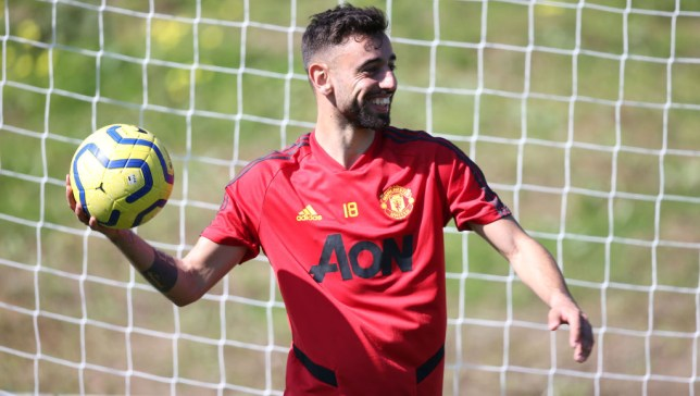 Manchester United new boy Bruno Fernandes claims he's 'getting stronger'