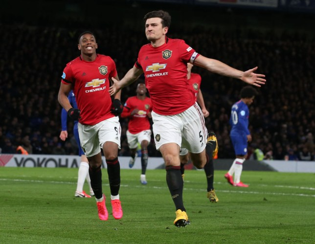 Harry Maguire's goal helped Manchester United secure a 2-0 win over Chelsea