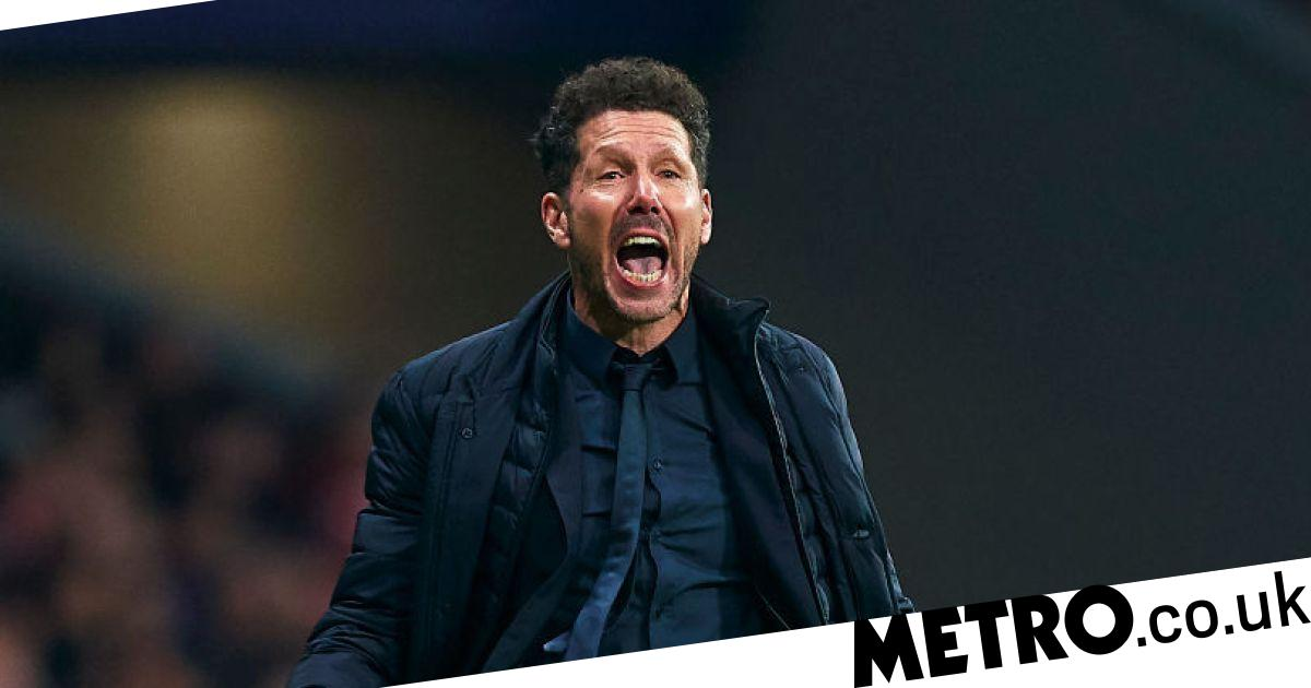 Diego Simeone says Atletico Madrid were beating Liverpool before the match kicked-off - metro