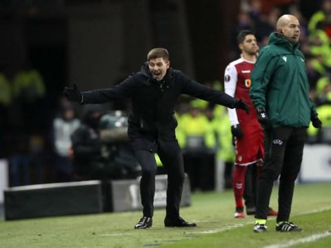 Steven Gerrard goes beserk as Rangers complete famous Europa League comeback against Sporting Braga