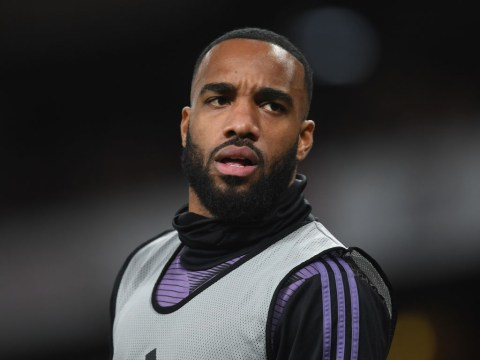 Alexandre Lacazette responds to rumours he has agreement with Arsenal over exit
