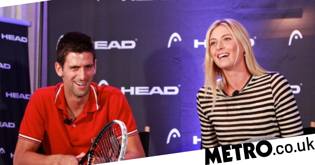Novak Djokovic reacts to Maria Sharapova retirement
