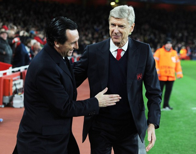Unai Emery claimed Arsenal were in decline when he succeeded Arsene Wenger