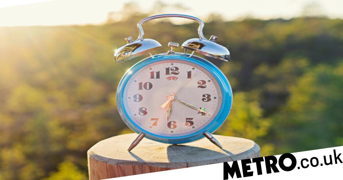 When do the clocks go forward this year?