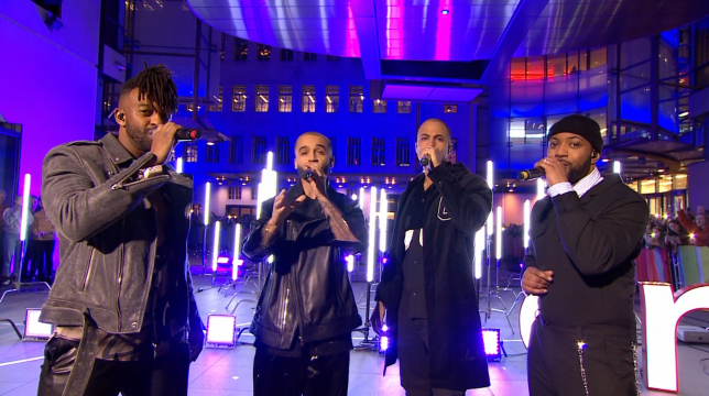 JLS The One Show