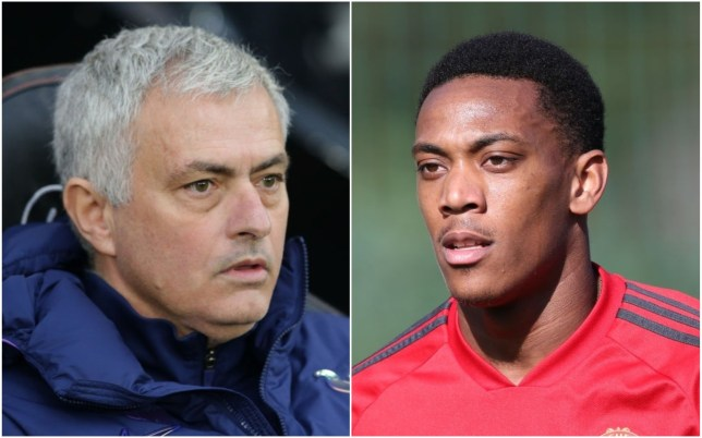 Anthony Martial admits he was not a fan of Jose Mourinho's direct approach in the dressing room at Manchester United