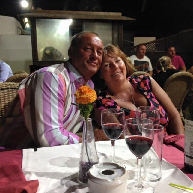 Elvin and his wife Jude