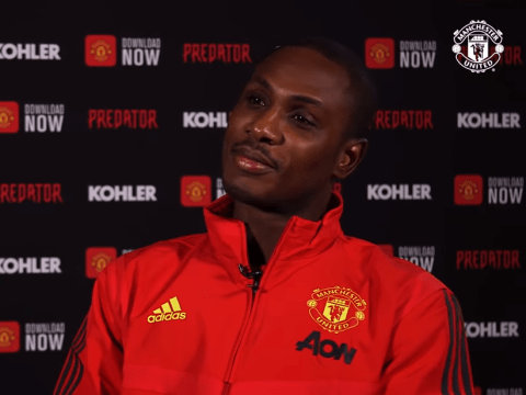 Odion Ighalo believes he can solve Manchester United's biggest attacking problem