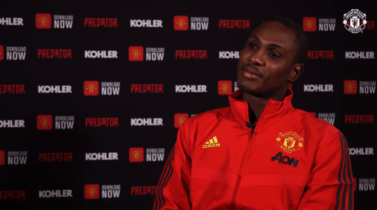 Odion Ighalo is set to make his Man Utd debut against Chelsea