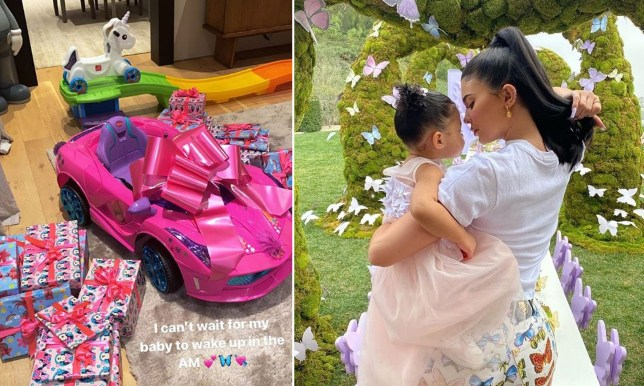 Kylie Jenner, daughter Stormi and Stormi's birthday presents