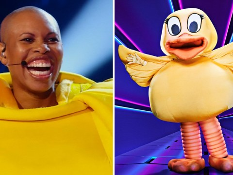 The Masked Singer: Skin from Skunk Anansie reveals the most awkward part of wearing a duck costume