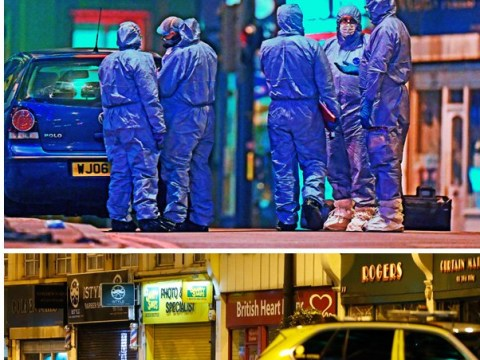 Man shot dead by police as two stabbed in London terror attack