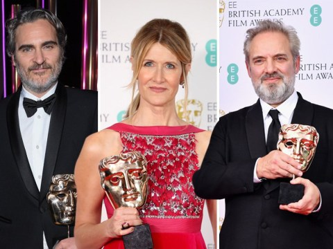 Baftas viewership falls by 500,000 as 3m tune in for televised ceremony on BBC One