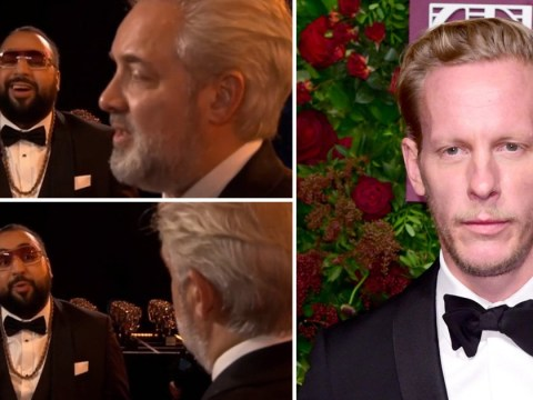 Laurence Fox mercilessly mocked in Baftas opener after 1917 'forced diversity' comments