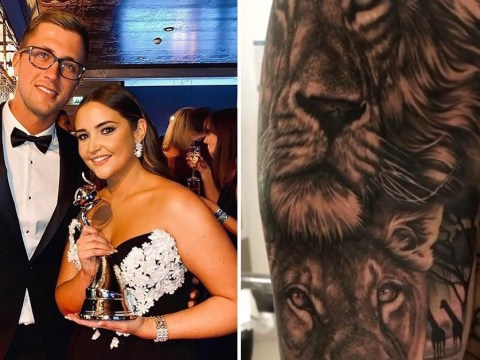 Dan Osborne inks giant lion tattoos in honour of wife Jacqueline Jossa