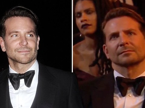 Bradley Cooper looking constantly confused sitting in the audience is the best part of the Baftas 2020