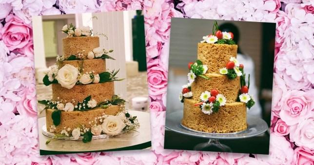 Noodle cakes - Mi Goreng cakes