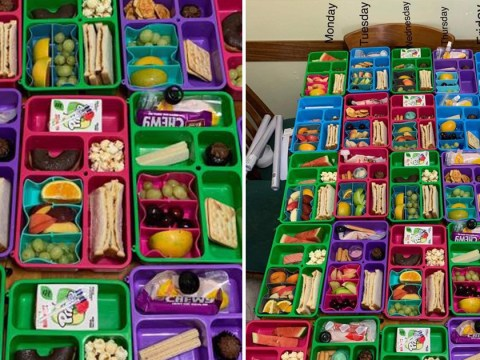 Mum preps entire week of lunches for family of five in one afternoon