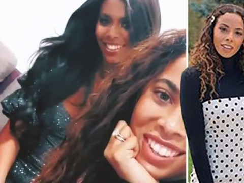 Sophie Piper reunites with lookalike sister Rochelle Humes after shock elimination from Love Island villa