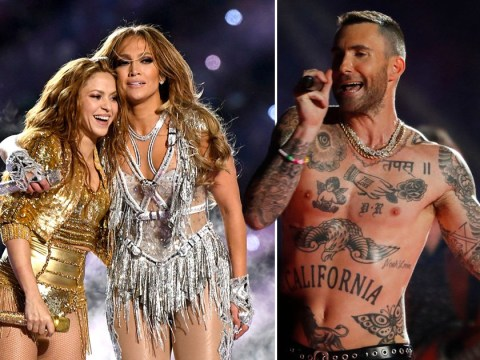Fans furious over backlash to Jennifer Lopez and Shakira's 'too sexy' Super Bowl show despite Adam Levine's shirtless 2019 performance